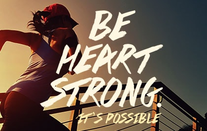 Be Heart Strong Promotion Banner